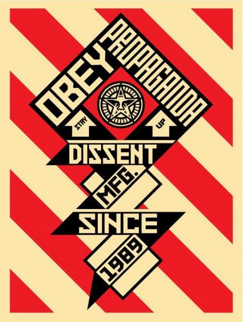 Propaganda Style Poster                                                       …