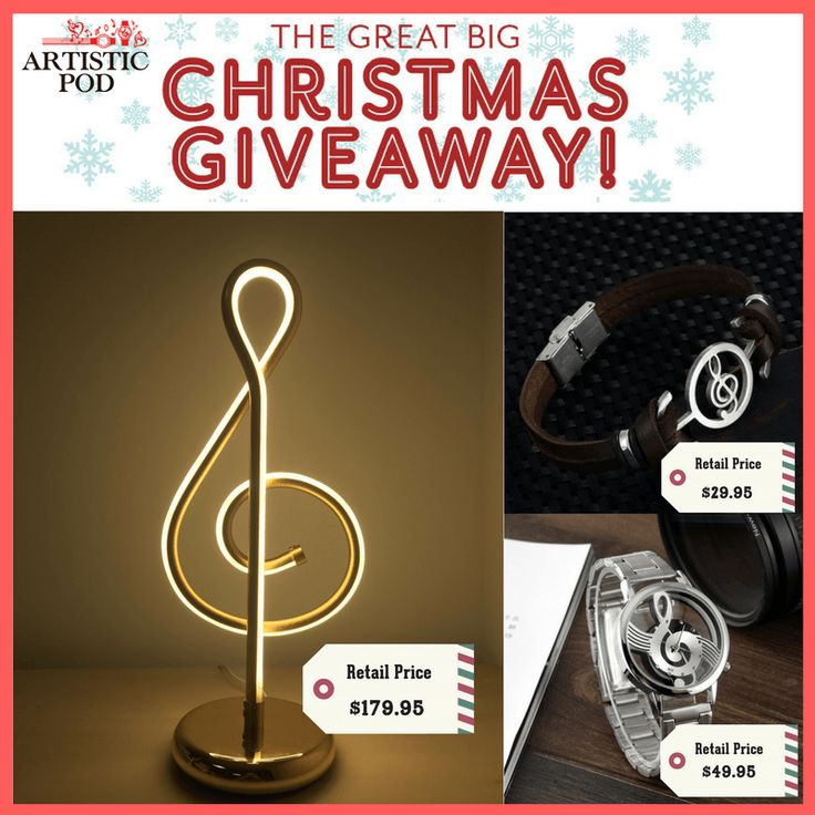 For Music Lovers Only! Win a range of different Music-Related Items for free NOW!
