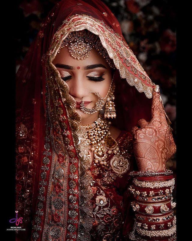 Indian Bride: (C) Jasmine Beauty Care