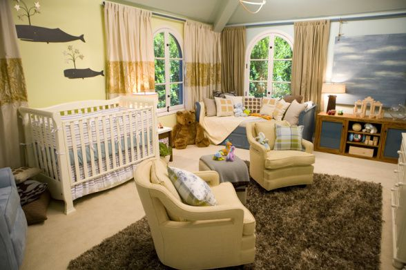 Yellow nursery coupled with a nautical twist. #whale: Nurseries Decor, Boys Nurseries, Wall Color, Master Bedrooms, Design Tips, Baby Rooms, Neutral Nurseries, Kids Rooms, Whales