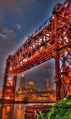 Conrail Bridge - Cleveland OH    www.liberatingdivineconsciousness.com