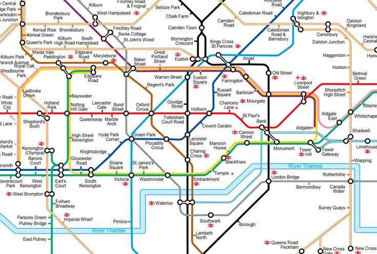 Tfl Tube Map Journey Planner Tfl Tube Map Journey Planner | Color 2018