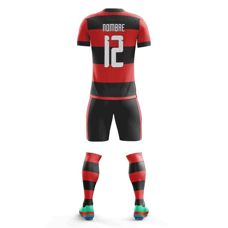 Equipo de fútbol Flamengo local 2016 – Creo
