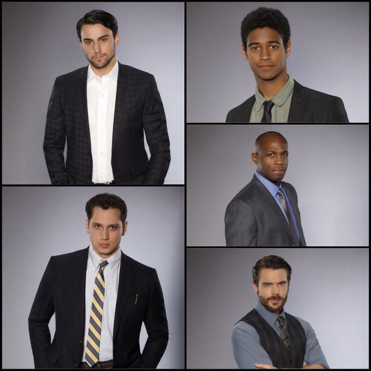 The men of How To Get Away With Murder