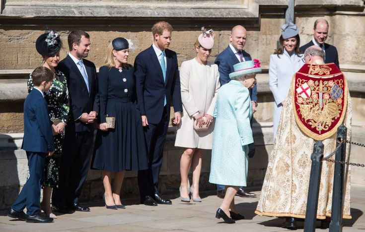 The Royal Family Gathered to Celebrate Easter WIth the Queen