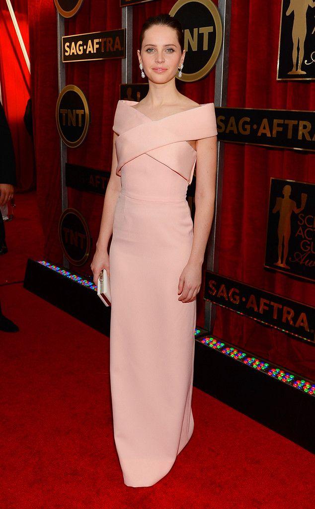 How perfect is Felicity Jones in Balenciaga?!