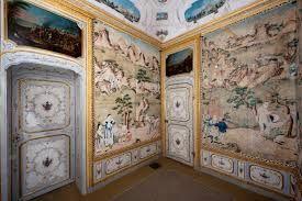 Salottino cinese,appartamento del duca del Chiablese,Stupinigi.Torino