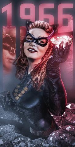 Fan poster of 'Catwoman' from Batman '66