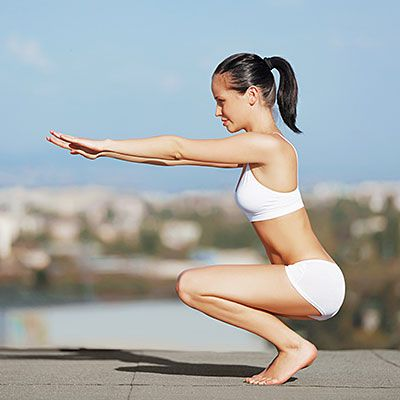 These plyometric moves from Nora Tobin are sure to slim down your legs and butt.