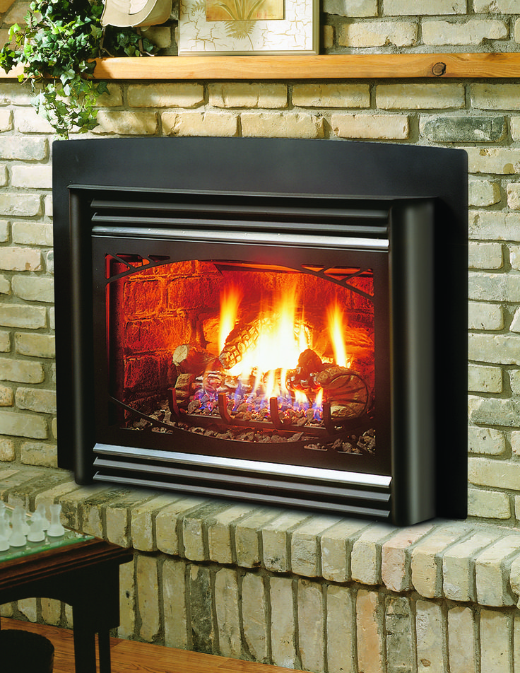Awesome Inserts Are Complete Units That Fit Into Existing Wood Burning Fireplaces. Gas  Insert ... Pictures