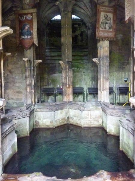 [3:40 drive] St Winefride's Well, Holywell