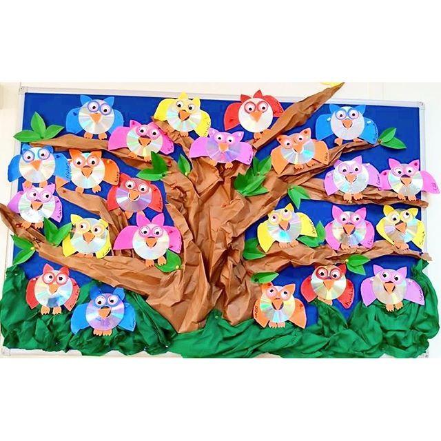 owl bulletin board idea  |   Crafts and Worksheets for Preschool,Toddler and Kindergarten