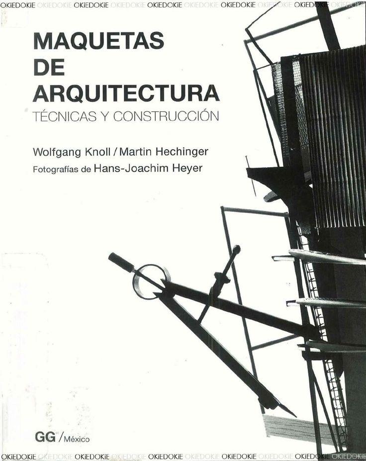 Maquetas de arquitectura técnicas y construcción