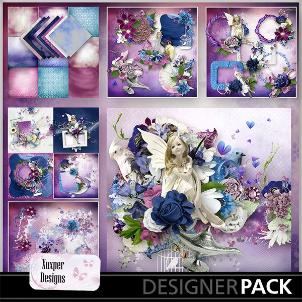 Magic her by Xuxper Designs http://www.mymemories.com/store/designers/Xuxper_Designs