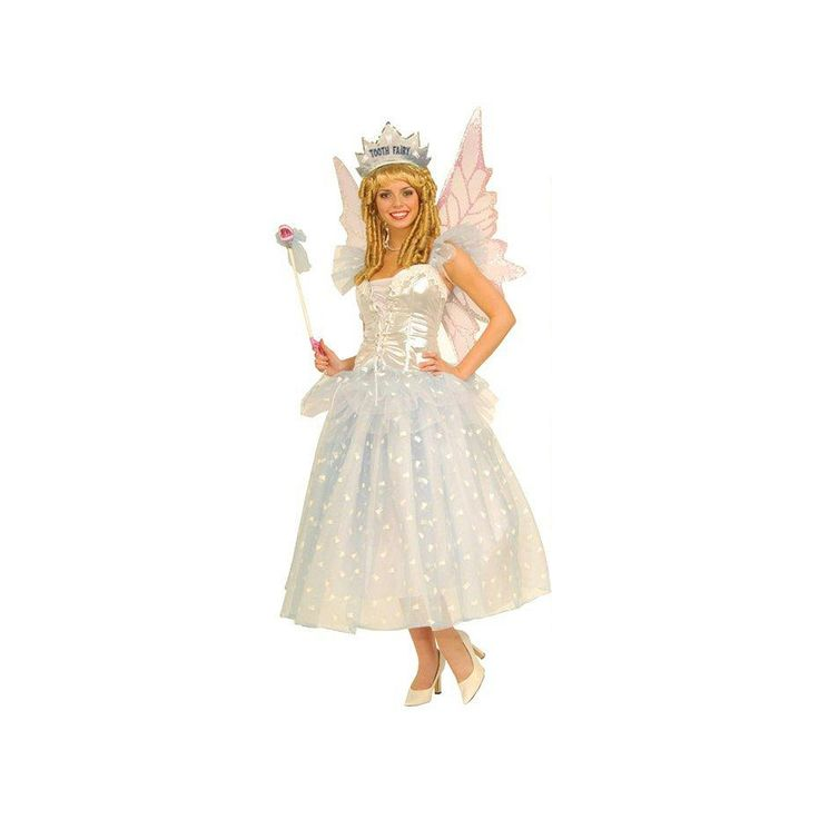 Tooth Fairy Costume - Adult, Women's, White