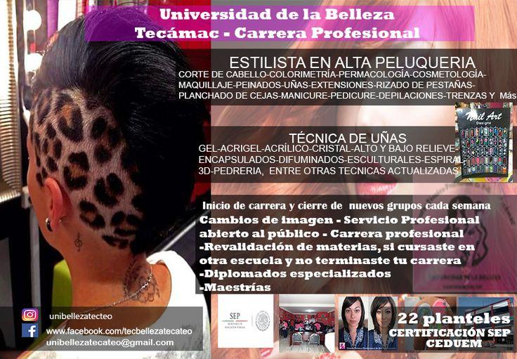 centro de estudios  de belleza Tecámac y Teotihuacán 4