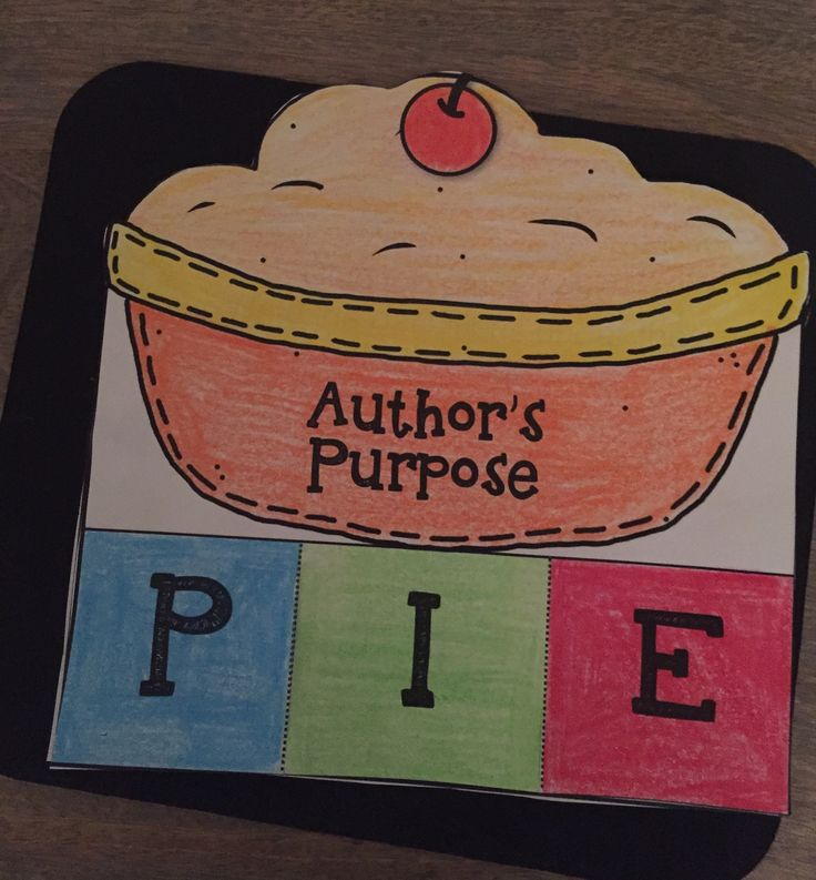 author 39 s purpose pie interactive foldables worksheets worksheets purpose and pies. Black Bedroom Furniture Sets. Home Design Ideas