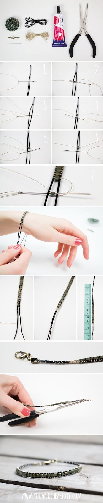 You and I ♥ DIY: DIY Perlenarmband