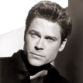 I can't decide if young Rob Lowe or mature Rob Lowe is better...