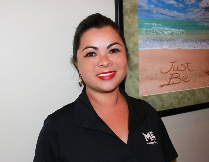 "#featurefriday Employee Feature: Meet Patricia, one of our #Massage #Therapist at our #PearlCity #Highlands #MassageEnvy #Hawaii location. #spa Patricia's favorite vacation spot was to Japan to see the Cherry Blossoms. What she likes most about her position, ""To make the my clients feel better than when they first came in."""