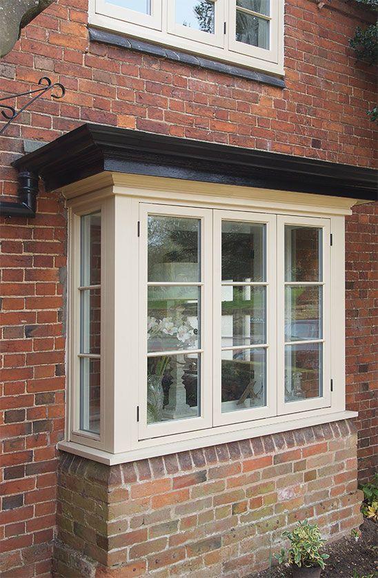 cottage style flush casement timber window