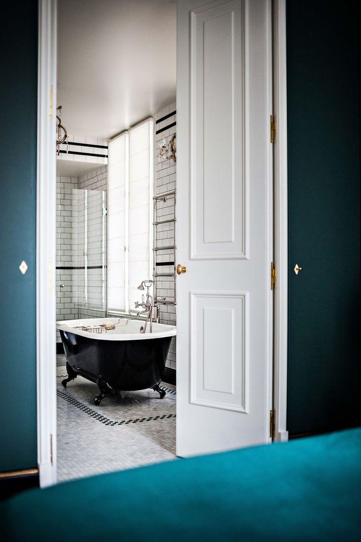Les 25 meilleures id es de la cat gorie d coration salle de bain antiques sur - Nouvel hotel paris 12 ...
