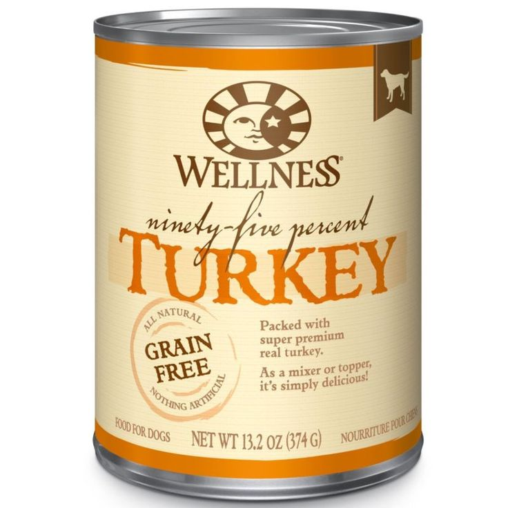 Wellness Canned Dog Food Ninety-Five Percent Turkey, 13.2 Oz - http://pets.goshoppins.com/dog-supplies/wellness-canned-dog-food-ninety-five-percent-turkey-13-2-oz/