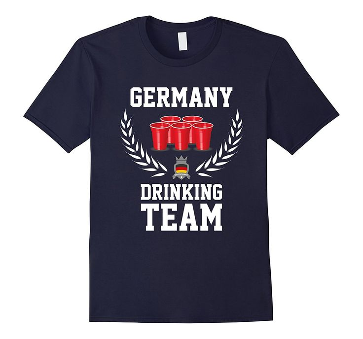 Germany Drinking Team - Funny Drinking T-Shirt - Unisex