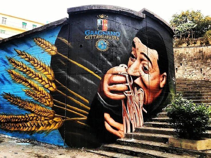 #gragnano #cittadellapasta #gragnanocittadellapasta #pastaigp #murales #pasta #pastagragnoro #gusto #cittadelgusto
