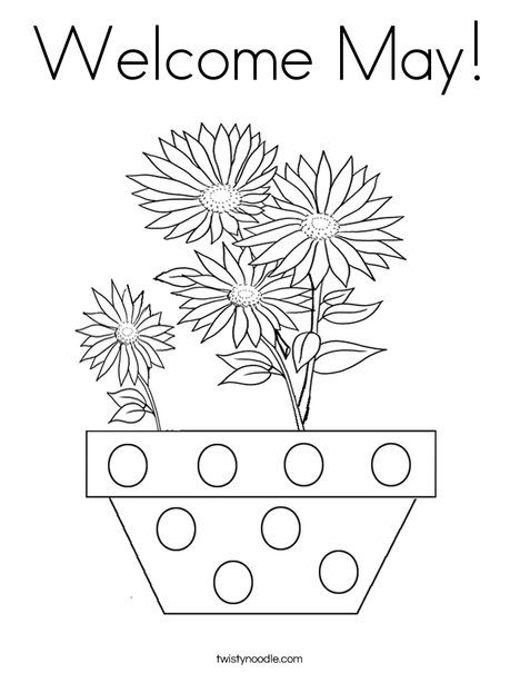 free may day coloring pages - photo#27