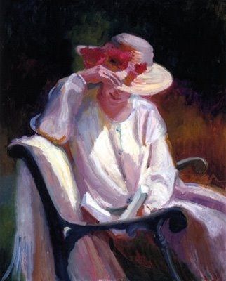 Sally Rosenbaum: Woman Reading