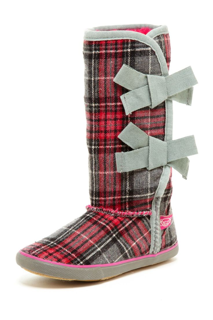 Rampage Sugar Plaid Boot
