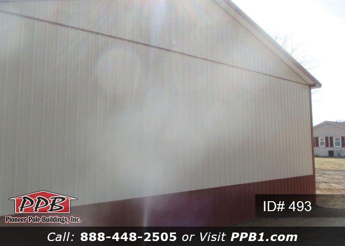 Gable End 40 W X 60 L X 16 4 H Id 493 Pole Buildings Garage Design 4 H