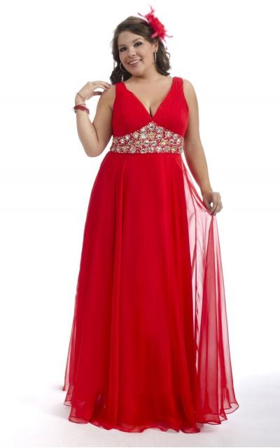 Sleeveless Zipper Deep V-neck Floor-length Chiffon Formal Dresses d130622092