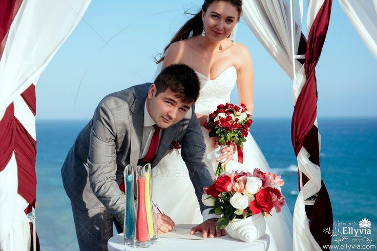 Свадьба на Кипре с Ellyvia Events.
