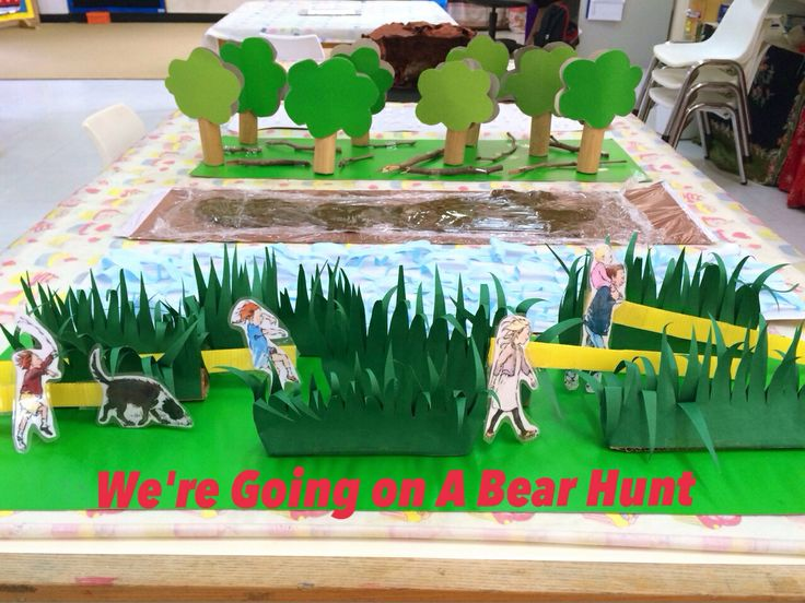 We are going on a bear hunt!