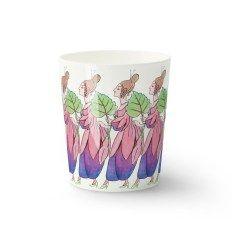 Elsa Beskow mug Fuschia