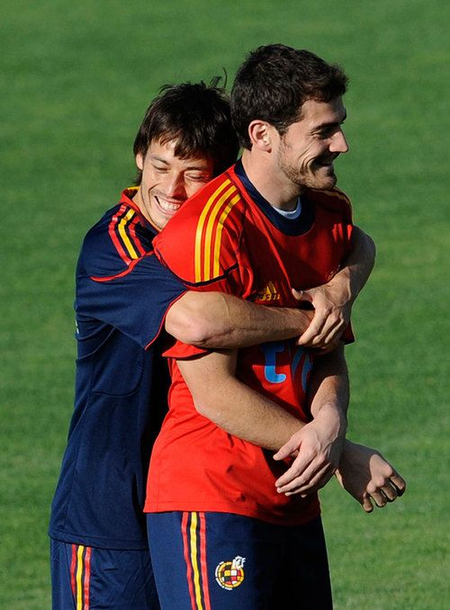 David Silva & Iker Casillas