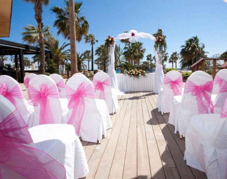 Beach Wedding At The Hotel Paphos Cyprus