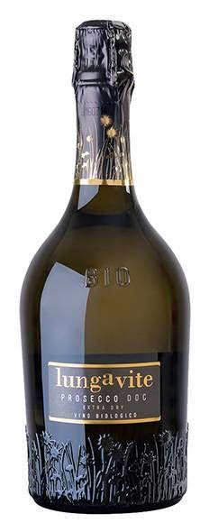 Prosecco Lungavite Vino Biologico - Gruppo Calzedonia #vinobiologico #organicwine #bio #winelabel #winedesign #italianwine #Francescon #Collodi #F&C