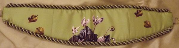 Tie Back in Pistachio by Anna Dempsey Designs Ltd