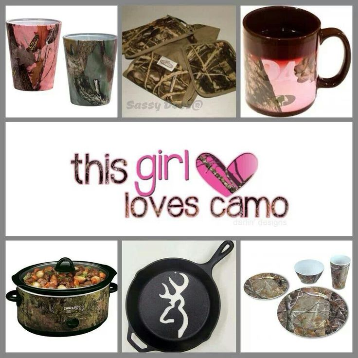 58 best images about camo on pinterest pink mossy oak for Camouflage kitchen ideas