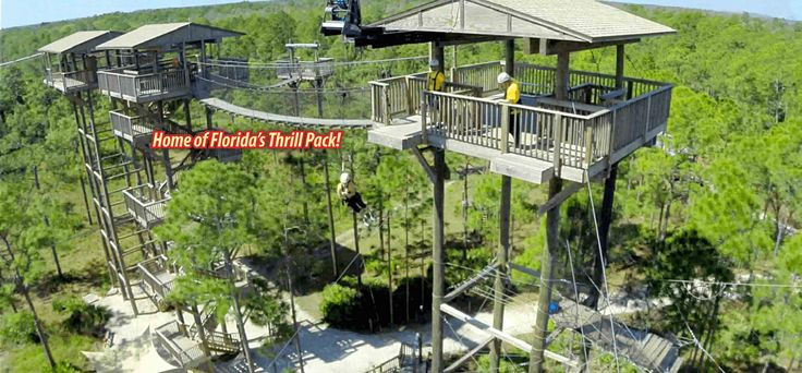 Forever Florida Zipline Adventures | St. Cloud, FL