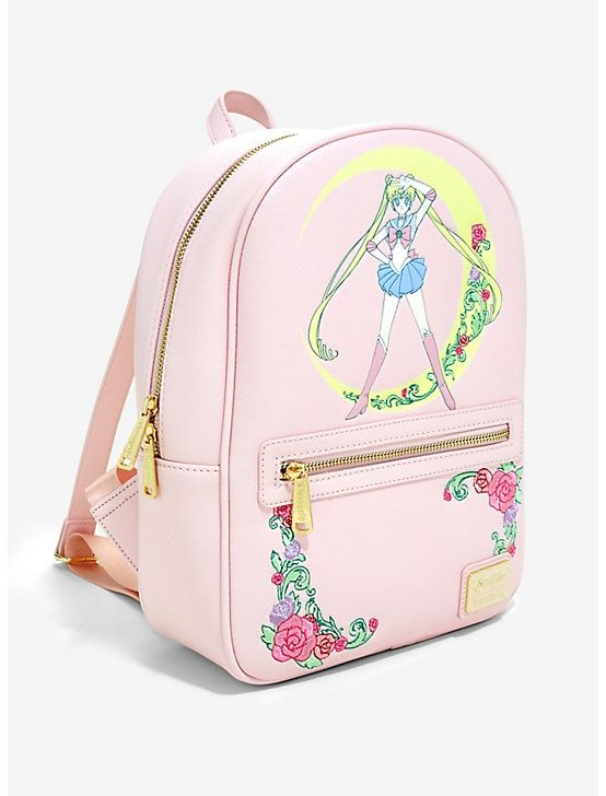 2b32243c163 Loungefly Sailor Moon Crescent Moon Mini Backpack - BoxLunch Exclusive