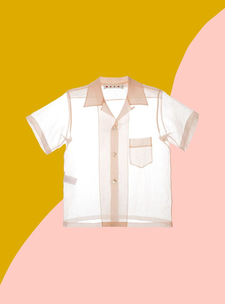 Sheer Clothing Doesn't Have To Be Scary  #refinery29  http://www.refinery29.com/2016/06/114634/see-through-clothes-summer-2016
