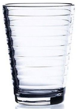 Iittala Aino Aalto Tumblers - Set of 2 - Clear - 11.75 oz - Modern - Cups And Glassware - by Kitchen Universe
