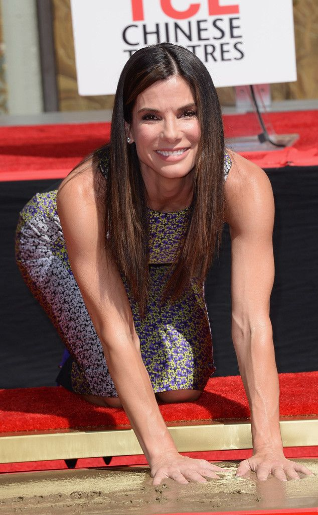 Sandra Bullock was honored at Hollywood's TCL Chinese Theatre. Congrats!