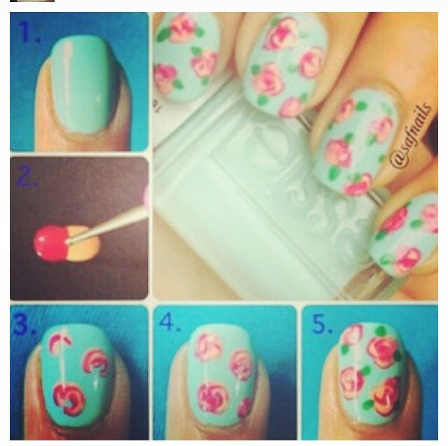 Mejores 12 imágenes de Step by step en Pinterest | Esmalte para uñas ...