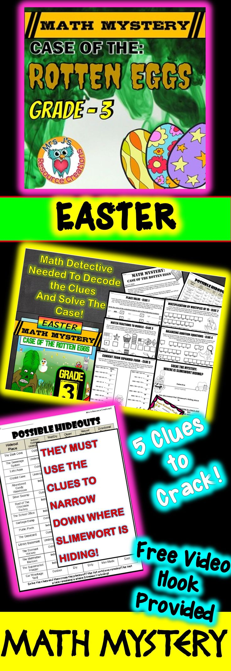 3203 best Easter Math Ideas images on Pinterest | Easter ...