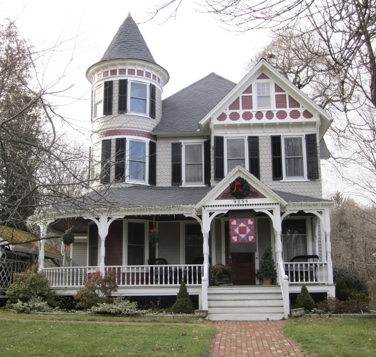 Victorian home at Route 22 in Amenia